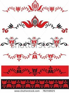 Find Embroidery Hungarian Pattern stock images in HD and millions of other royalty-free stock photos, illustrations and vectors in the Shutterstock collection. Hungarian Embroidery, Folk Embroidery, Learn Embroidery, Hungarian Tattoo, Beginner Embroidery, Floral Embroidery, Chain Stitch Embroidery, Embroidery Stitches, Embroidery Patterns