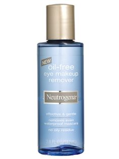 Hands down, the best eye-makeup remover!  It even takes off waterproof mascara.  And the best part?  It's cheap!