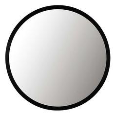 Miroir en métal noir STRATFORD