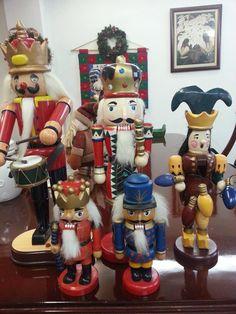 set de 5 cascanueses navideños