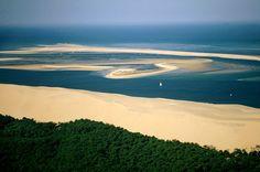Dune du Pilat, Gironde, Aquitaine (France).