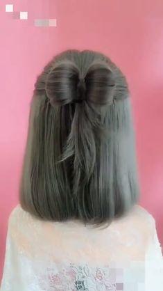 Headbands For Short Hair, Braids For Short Hair, Cute Hairstyles For Short Hair, Diy Hairstyles, Short Hair Styles, Updos For Medium Length Hair Tutorial, Black Hair Video, Bridal Hair Tutorial, Hair Videos