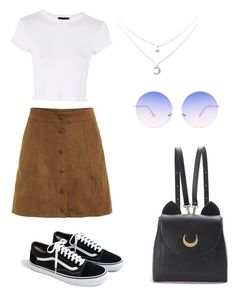 """Back to school #1"" by molkabha on Polyvore featuring mode, Topshop, J.Crew, WithChic et Skinnydip"