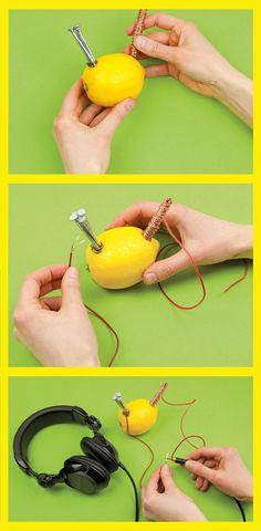 Kinder-Experiment: So könnt ihr Strom erzeugen!