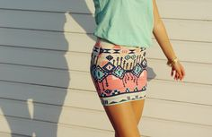 Skirt, and mint!