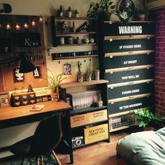 漫画/100均/ウォールステッカー/リメイク/ベッド周り/DIY…などのインテリア実例 - 2015-07-10 10:18:43 | RoomClip(ルームクリップ)