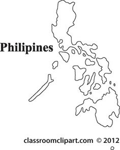 Outline Map Philippines Class Ideas Pinterest Philippine Map