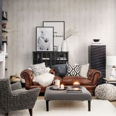 Living Room Designs With Leather Couches Oversized Chairs For 32 Interior Tan Sofa Decorate 55 Adorable Mid Century Modern Rooms Design Ideas Http Bedewangdecor
