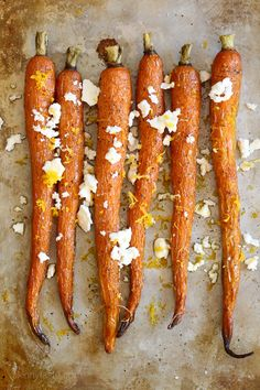 Roasted Heirloom Carrots with Feta, Truffle and Lemon Zest – my FAVORITE way to enjoy roasted carrots!