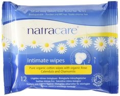 Natracare Organic Cotton Intimate Wipes Wipes) *** Check this awesome product by going to the link at the image. (This is an affiliate link) Organic Roses, Organic Cotton, Supplements For Women, Alcohol Free, Biodegradable Products, Pure Products, Link, Awesome, Check