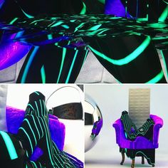 #tonights #render #c4d #cinema4d #art #design #purple #green #leather & #fur #mirror #sphere #graffiti by yesimfaceless