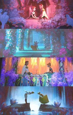 Frozen as 2D concept art.
