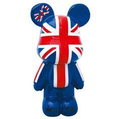 Statue Géante Funky Bears So British Drapeau UK, 89,90 €