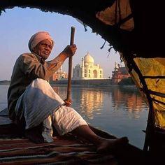 Taj by the Yamuna. …