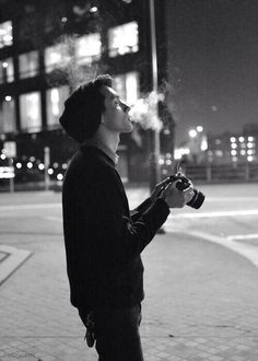 boy, smoke, and photography εικόνα