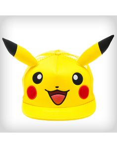 Party points to ME! I just found the Pokemon Pikachu 3d Ears Trucker Hat from Spencer's. Visit their mobile website to get this item and more like it.