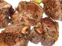 Grilled Italian-Style Lamb Chops recipe by Giada. These are fantastic and so quick and easy to prepare, yet full of wonderful flavor. I serve these as a family meal and also to guests. I do suggest a very small food processor to make the rub.
