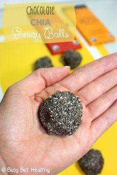 Chocolate Chia Energy Balls