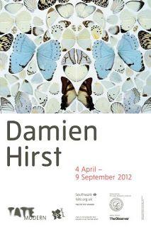 DAMIEN HIRST EXHIBITION - TATE MODERN - LONDON 2012