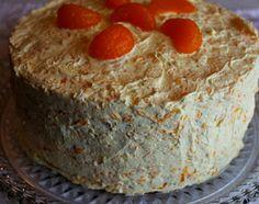 Sweet Tea and Cornbread: Aunt Anns Coconut Orange Cake!
