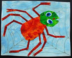 Artsonia  :: Alum Creek Elem. Grade 1 Eric Carle's The Very Busy Spider