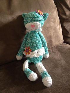 Animeko Kitty in ballerina costume-- leg warmers and tutu