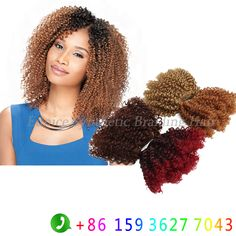 cc09418b04 41 Fascinating 8inch Jerry Curl hair(2pcs pack) images