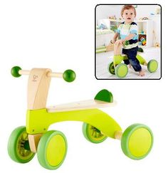 New in store: The Wooden Scoot-Around Toddler Scooter by Hape