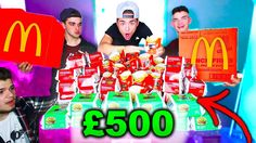 MCDONALDS MONOPOLY CHALLENGE £500 GAMBLE (2,000+ STICKERS!) + I'M GOING ...
