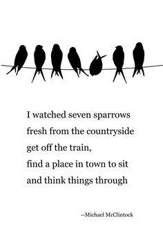Tanka poem: restless all day -- by Michael McClintock.   Tanka ...
