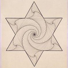 #geometry #symmetry #triangle #hexagon #tessellation #tiling #pattern #escher #mcescher #handmade #ink #star #wallpaper #structure #mandala #infinity | infinito∞∞