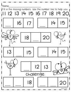 Number Book Printables, Center, and more! : Number Book Printables, Center, and more! Numbers Kindergarten, Kindergarten Readiness, Numbers Preschool, Preschool Math, Teaching Numbers, Math Activities, Math Addition Worksheets, Free Kindergarten Worksheets, Montessori Math