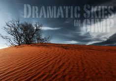 Making Dramatic Skies in GIMP - tons of great GIMP tutorials