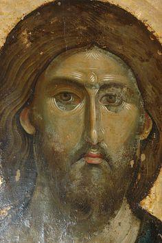 Christ - Pantocrator Ruler Of All Serbian Monastery - Hilander, MT. Byzantine Icons, Byzantine Art, Religious Icons, Religious Art, Christus Pantokrator, Anima Christi, Images Of Christ, Art Icon, Orthodox Icons