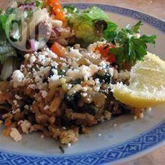 Rezeptbild: Griechischer Spinat mit Reis (Spanakorizo)
