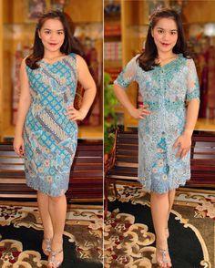 Kombinasi kebaya dengan batik Batik Fashion, Women's Fashion, Dress Batik Kombinasi, Kebaya Lace, Dress Brokat, African Clothes, Batik Dress, Ethnic Dress, Lace Dresses