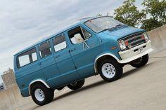 Other Makes Sportsman Van Shorty Dodge Ram Van, Volkswagen, Ford, Cool Vans, Custom Vans, Old Cars, Plymouth, Mopar, Vintage Cars