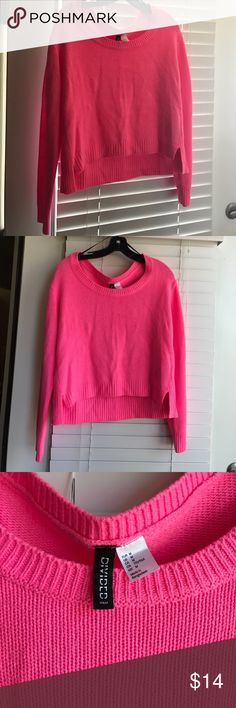 Navy and Hot Pink sweater | Hot pink sweater and Barrow A.F.C.