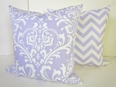 PILLOW COVERS SET of 2  18x18 Decorative Throw by SayItWithPillows, $32.95