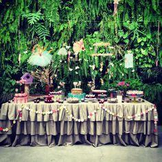 Decoração do Baile, festa fada, manioca, decoração