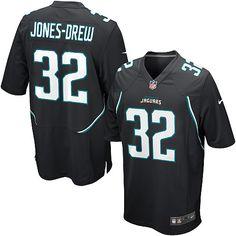 Nike Jaguars  32 Maurice Jones-Drew Black Alternate Mens NFL Game Jersey  And   c2e018312