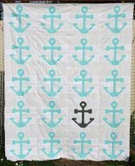 Anchor Quilt Top - H - http://quiltingimage.com/anchor-quilt-top-h/