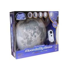 Malia, if you do a space nursery he has to have this!! Uncle Milton Moon In My Room Model