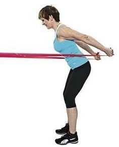 Näillä jumppaohjeilla käsilöllykät saavat kyytiä.Apua, hihaton mekko! Jos käsivartesi eivät ole vielä ihan iskussa, helppo kotijumppa saa ojentajat omistajaansa tyydyttävään kuntoon. Avuksesi tarvitset kuminauhan ja matalan keittiöjakkaran tai tuolin, josta saat tukea. Tee kaikkia liikkeitä aluks... Move Your Body, Keeping Healthy, Excercise, Hiit, Get Started, Gym Workouts, Fitness Inspiration, Health And Beauty, Feel Good