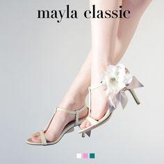 BouquetRitz「フラワーガーデンで出会った、フェミニティな架空の華」 #mayla_classic #sandal