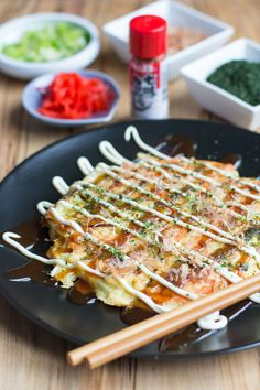 Homemade Japanese Okonomiyaki Recipe