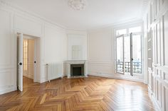 Large restored Paris room   A+B Kasha, Luxury property in Paris