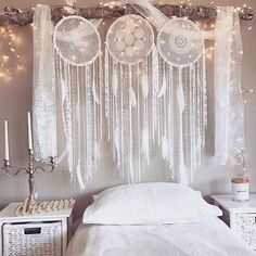 """Tis the Season to Sparkle. ✨Enjoy Next day Delivery for Christmas in AU #BlissDreamcatchers are #INSTOCK Lucky we planned ahead! Order by 8am EST on the 21st for Christmas delivery in Australia """"Your imagination is your preview of life's coming attractions.""""✨Sending heaps of love and positivity your way on this beautiful day. Photo featuring our #BlissDreamcatchers"""