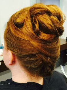 Hair up by #TheCuttingCompany Woburn Sands
