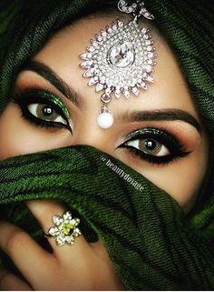 Beautiful makeup job.